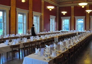 Restored dining hall, Downing College