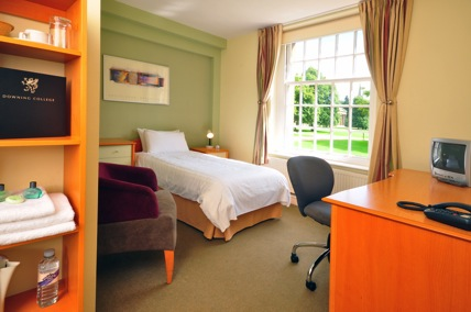 Downing College Student Room