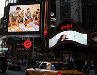 Picture of Downing crew in Time Square