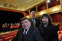Barry Everitt, Sir Trevor Nunn and Alan Howard