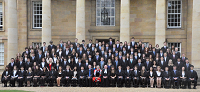 Matriculation, October 2012 - class photo
