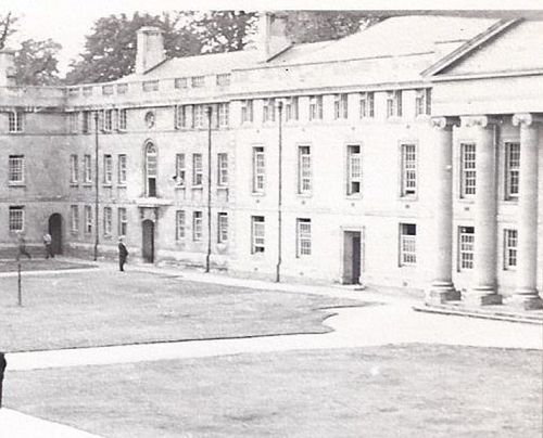 Downing College Quad, 1957