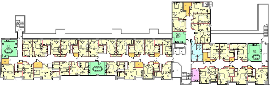 Plans and Drawings Downing College – Student Housing Floor Plans