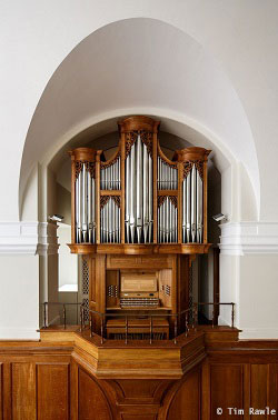 Downing College organ