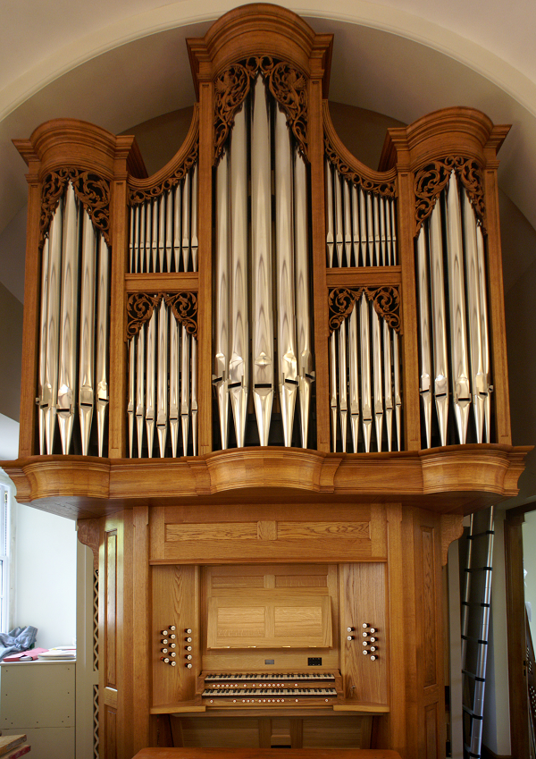 The new organ unveiled
