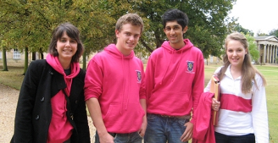 Downing College students